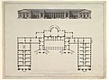 North Elevation and Ground Plan of the Alexander Palace at Tsarskoe Selo MET DP820605.jpg