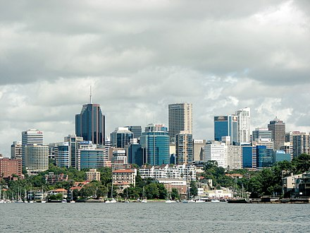 North Sydney commercial district. North Sydney skyline.jpg