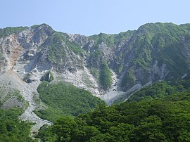 North Wall of Mt. Daisenin.jpg
