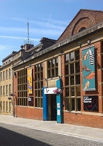 Cultural Quarter, Northampton - Northampton Museum and Art Gallery