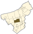 Northampton county - Lower Nazareth Township.png