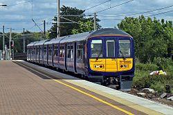 Northern Electrics Class 319, 319382, Wigan North Western railway station (geograph 4500033).jpg
