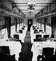 Northern Pacific Railway North Coast Limited dining car 1930.jpg