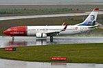 Norwegian (Jean Sibelius livery), EI-FVH, Boeing 737-8JP (35542496821).jpg