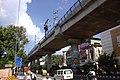 Nové Díllí, most metra.jpg