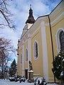 Nový Hradec Králové, kostel svatého Antonína Poustevníka, od jihozápadu.jpg