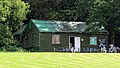Nuthurst Cricket Club pavilion at Mannings Heath, West Sussex, England 01.jpg
