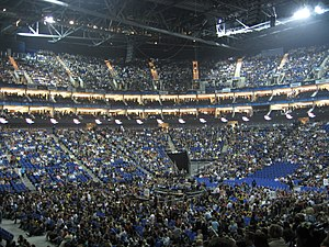 Michael Jackson's This Is It - Image: O2 arena