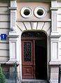 OPOLE dom XIXw ul Kropidły 1- drzwi wejściowe. sienio.jpg
