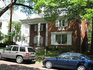 Alpha Xi Delta - Alpha Xi Delta Sorority house at Ohio University.