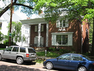 Alpha Xi Delta - Alpha Xi Delta Sorority house at Ohio University.