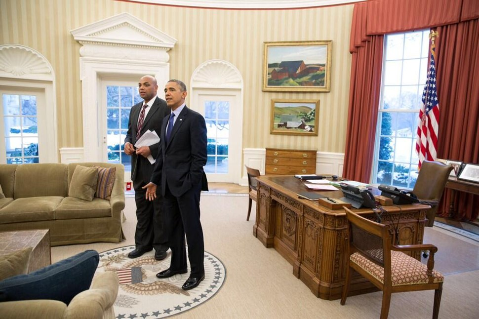 Obama with Charles Barkley after interview.jpeg