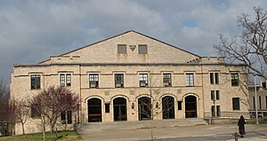 Arkansas Center for Space and Planetary Sciences - The Old Field House at the U of A.