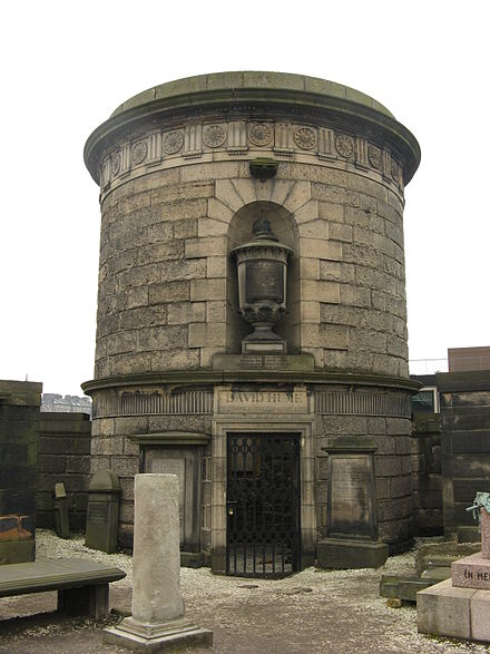 David Hume's mausoleum by Robert Adam in the Old Calton Burial Ground, Edinburgh. Old Calton David Hume.jpg