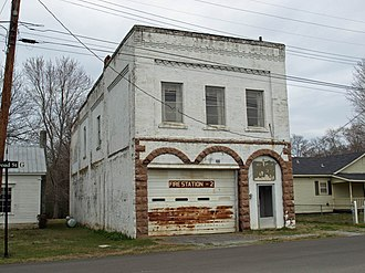Gurley, Alabama - The Old Gurley Town Hall is a contributing property to the Gurley Historic District which was added to the National Register of Historic Places on June 2, 2004.
