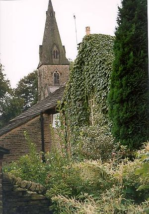 Old Glossop - Image: Old glossop church