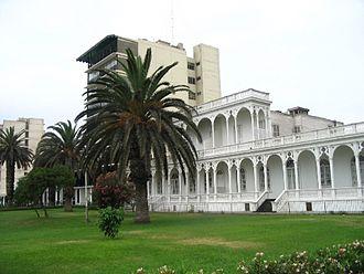 Ancón District - Old-style house in the Ancón beach area