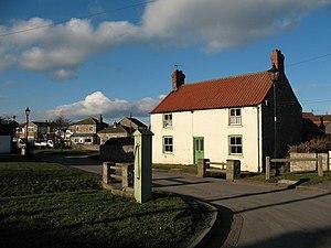 Snape, North Yorkshire - Image: Old pump, Snape village. geograph.org.uk 330992