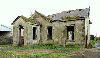 Downpatrick, Killough and Ardglass Railway - Remains of Ardglass railway station