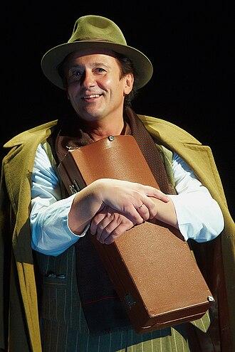 "Oleg Menshikov - Oleg Menshikov in the play ""1900"" - 2010-09-09"