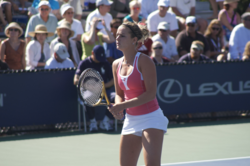 Olivia Sanchez at the 2008 US Open