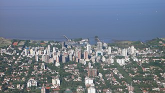 Olivos, Buenos Aires - Image: Olivos from the Airplane