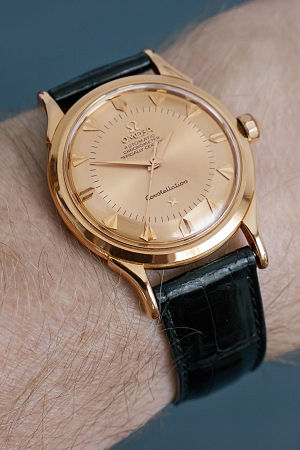 Omega SA - Omega Constellation - 18k rose gold - 1958