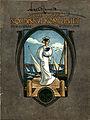 Omslaget till AB Nordiska Kompaniets varukatalog, våren. Kvinna med sjömansklänning - Nordiska Museet - NMA.0035945.jpg