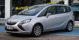 Opel Zafira — Wikipédia