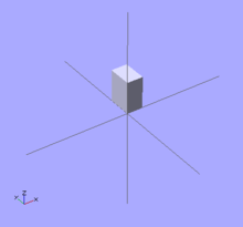 openscad user manual first steps creating a simple model wikibooks