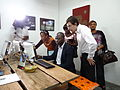 Opening of the Espace WikiAfrica in Douala 17.JPG