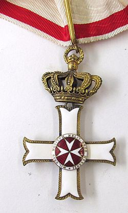 Order pro merito Melitensi - Grand Cross - Badge 01.jpg