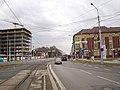 Ostrava, Náměstí Republiky, silnice a TT.jpg
