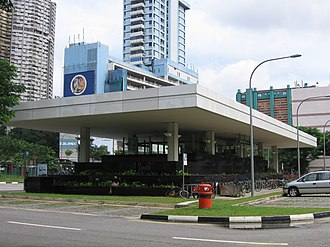 Outram Park MRT station - Image: Outram Park NEL Interchange, Entrance, Dec 05