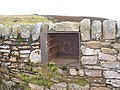Oven from a cast iron range built into a wall in a sheepfold - geograph.org.uk - 707852.jpg