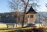 Pörtschach Winklern Gaisrückenstrasse Am Kåte Bildstock und Bank 25122017 2177.jpg