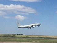 P-8 Poseidon taking off at Bahia Blanca (38526374676)