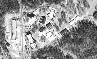 Phillips Community College of the University of Arkansas - Aerial view of Helena-West Helena campus