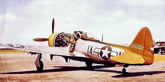 RAF Raydon - Republic P-47D-30-RA Thunderbolt Serial No. 44-33240 of the 356th Fighter Squadron