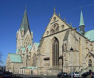 Paderborn Cathedral Church in Paderborn, Germany