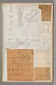 Page from a Scrapbook containing Drawings and Several Prints of Architecture, Interiors, Furniture and Other Objects MET DP372090.jpg