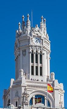 Palacio De Cibeles Wikipedia La Enciclopedia Libre