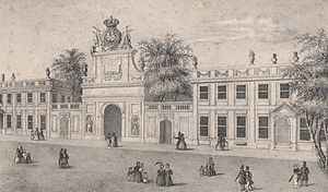 Seteais Palace - Historical view during the 19th century