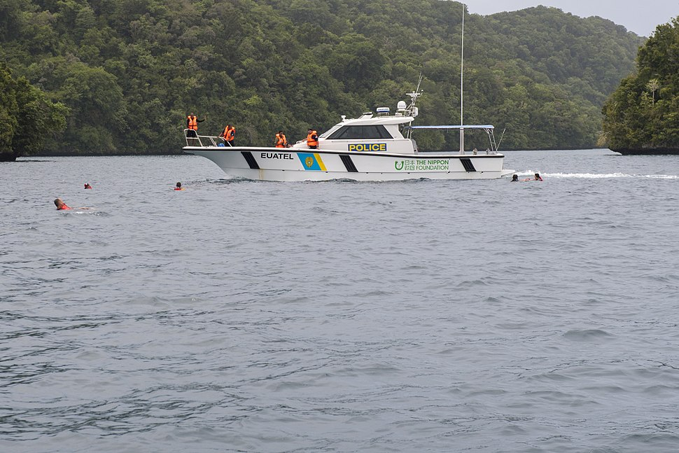 Palau Maritime Police vessel