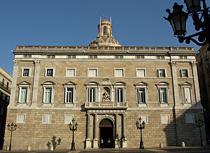 Events of 6 October 1934 - The Palau de la Generalitat de Catalunya, headquarters of the Catalan government, was directly attacked by the troops of the general Domènec Batet, loyal to the Spanish government.