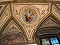 Palazzo di sforza almeni, sala con affreschi, figura allegorica 10.JPG