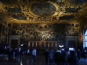 Great Council of Venice - Chamber of the Great Council