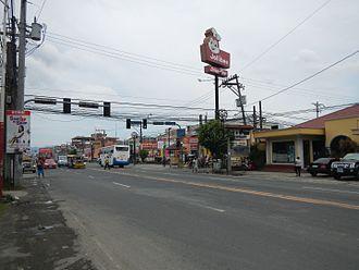 Santo Tomas, Batangas - Pan-Philippine Highway along Santo Tomas