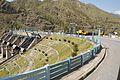 Pandoh Dam across River Beas - Chandigarh-Manali Highway - NH-21 - Mandi 2014-05-09 2152.JPG