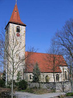 Gotische Pankratiuskirche in Möglingen